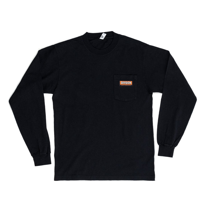 Division & Co. Long Sleeve Pocket Tee