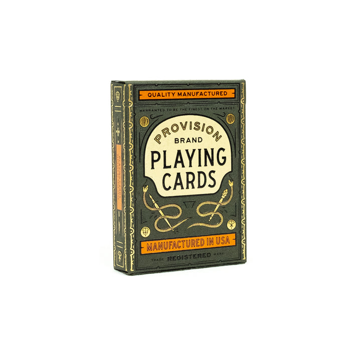 Provision Playing Cards - Division and Co.