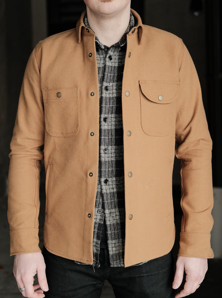 Rogue Territory Copper Selvedge Canvas Service Shirt - Thirdmark Supply House