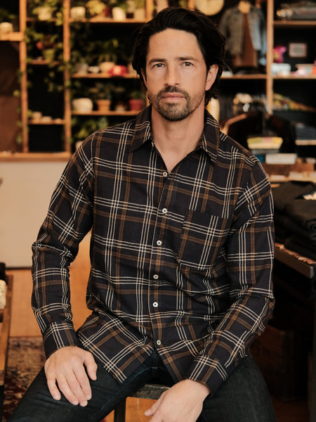 Rogue Territory Navy Plaid Jumper Shirt - Thirdmark Supply House