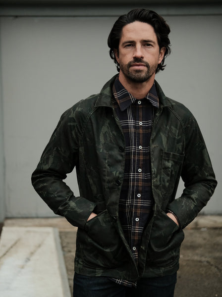 Rogue Territory Waxed Camo Explorer Jacket - Thirdmark Supply House