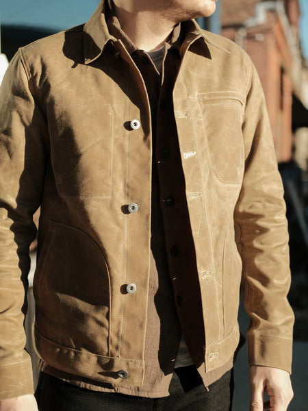 Rogue Territory Tan Ridgeline Waxed Supply Jacket