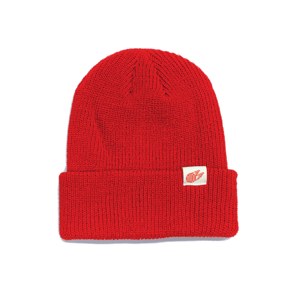 Divco Watch Cap - Red - Division and Co.