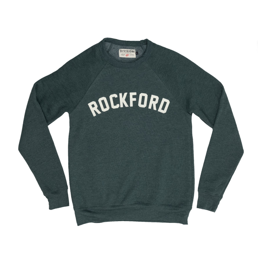 Rockford Crewneck Sweatshirt | Forest Green - Division and Co.