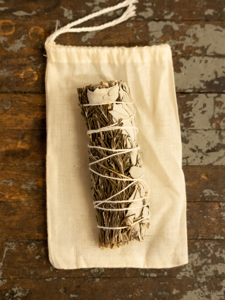 Sage & Rosemary Smudge Bundle - Thirdmark Supply House