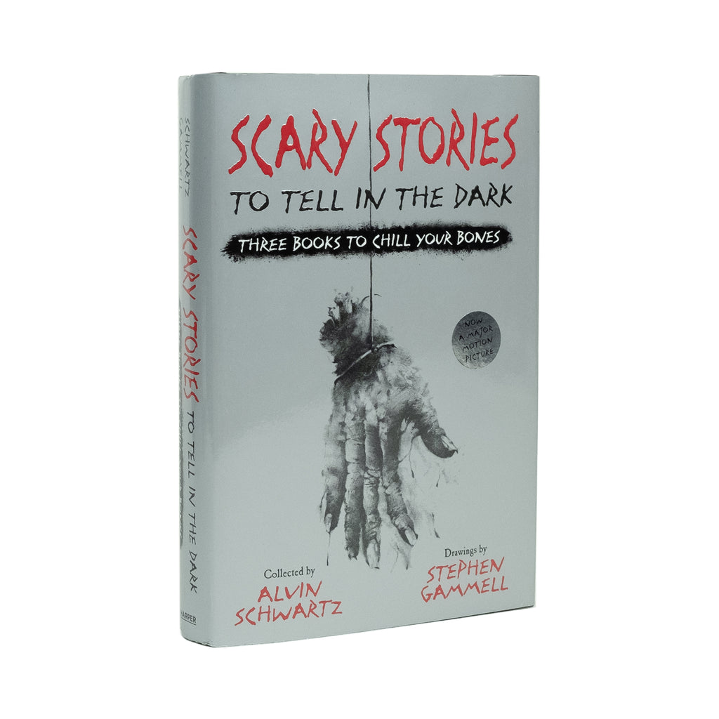 Scary Stories to Tell in the Dark: Three Books to Chill Your Bones - Division and Co.