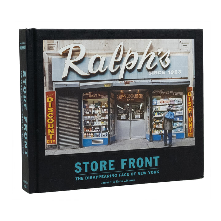 Store Front - The Dissapearing Face of New York | Photo Book - Division and Co.
