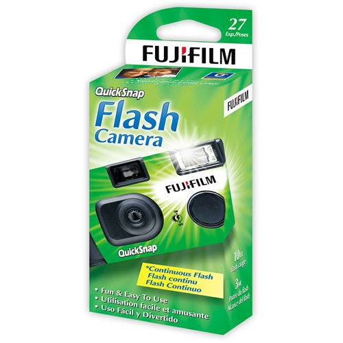 Fuji Superia 400 ISO with Flash 35mm x 27 exp. - Single Use Camera - Division and Co.