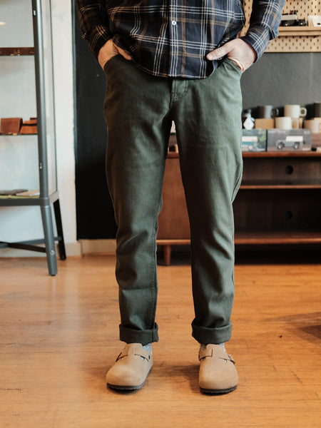 The Camp Pant - Dark Olive Boss Duck - Thirdmark Supply House