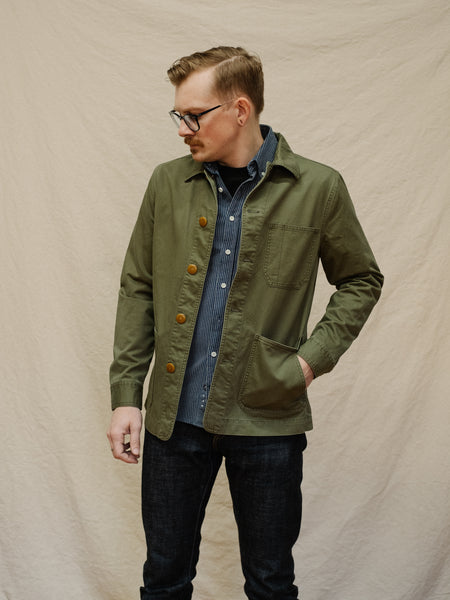 Ojai Jacket - Olive - Thirdmark Supply House