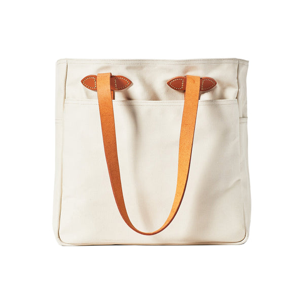 Rugged Twill Tote Bag - Natural - Division and Co.