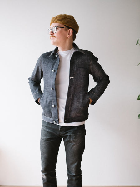 Rogue Territory Supply Jacket - Cryptic Indigo - Thirdmark Supply House