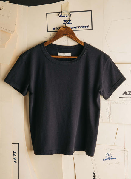 The Drop Tee - Faded Black - Thirdmark Supply House