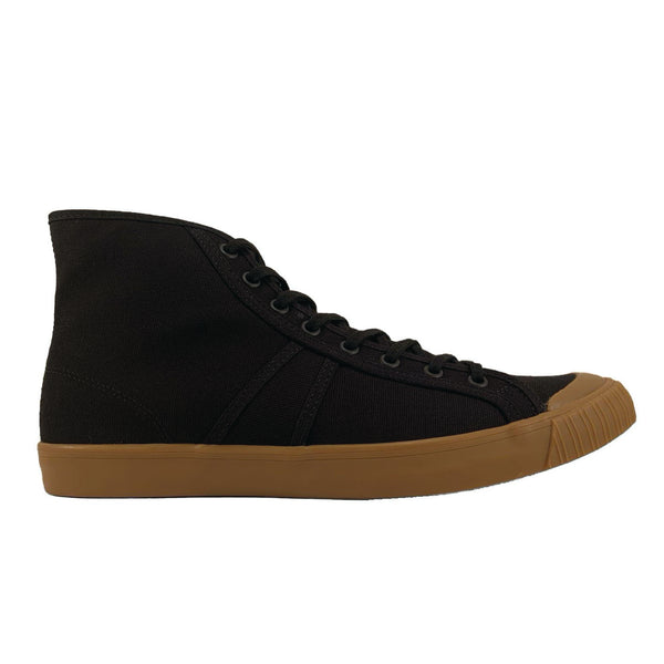 1892 National Treasure High Top Sneaker - Black / Gum - Thirdmark Supply House