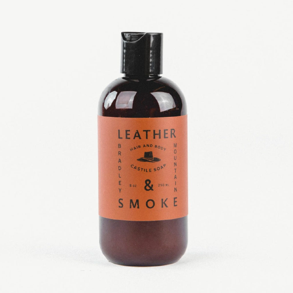 Hair & Body Castille Soap - Leather & Smoke - Thirdmark Supply House