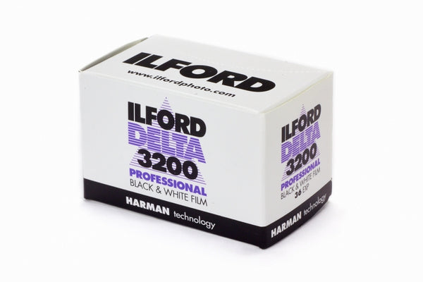 Ilford Delta Pro 3200 ISO | 35mm x 36 exp. - Division and Co.