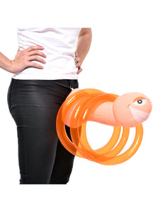bachelorette party,party bachelorette,bachelorette parties,bachelorette party ideas,bachelorette decorations,bacheloretteplans.com,Bachelorette Mr Party Pecker Inflatable Ring Toss