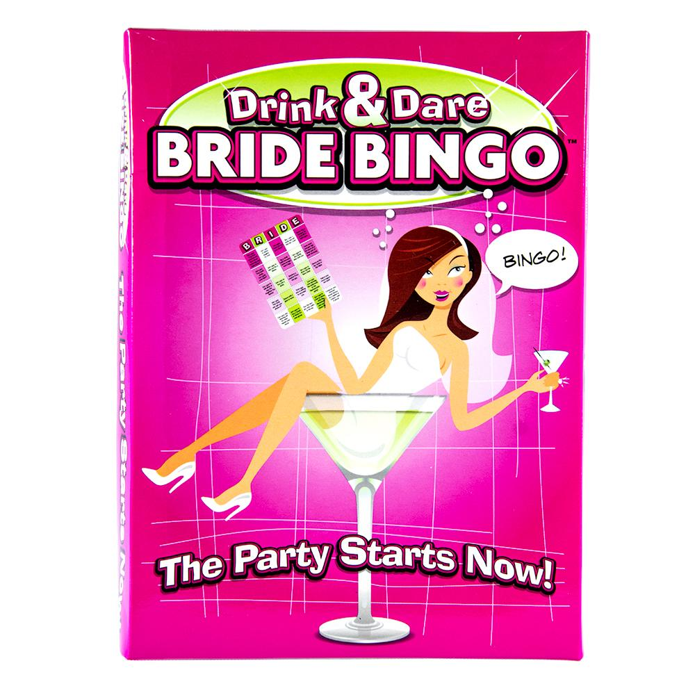 Drink & Dare Bride Bingo