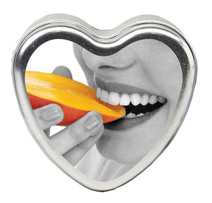 Candle 3-in-1 Heart Edible Mango Margarita 4.7 Oz