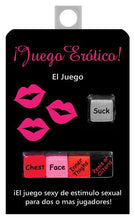 bachelorette party,party bachelorette,bachelorette parties,bachelorette party ideas,bachelorette decorations,bacheloretteplans.com, bachlorette games, bride to be games, bachelorette party games,Juego Erotico Dice Game In Spanish(out May)