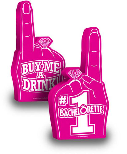 bachelorette party,party bachelorette,bachelorette parties,bachelorette party ideas,bachelorette decorations,bacheloretteplans.com, bachlorette games, bride to be games, bachelorette party games,(d) Foam Finger #1 Bachelorett