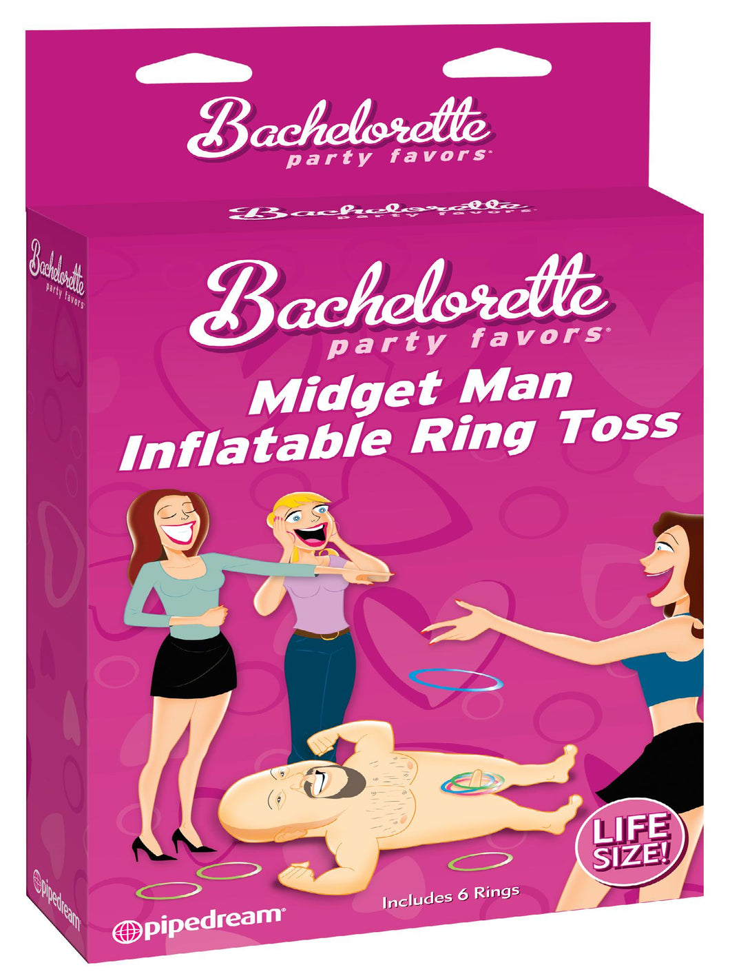bachelorette party,party bachelorette,bachelorette parties,bachelorette party ideas,bachelorette decorations,bacheloretteplans.com,Bachelorette Midget Man Inflatable Ring Toss