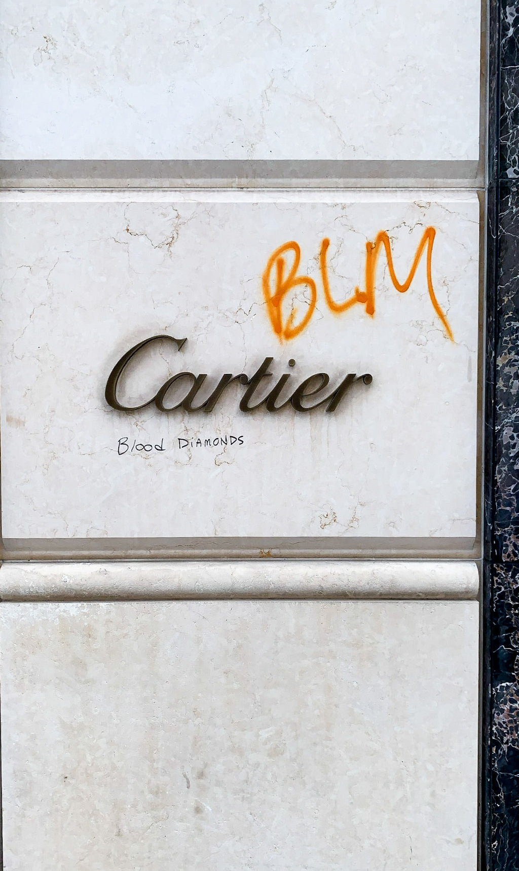 Cartier // Black Lives Matter //  Print