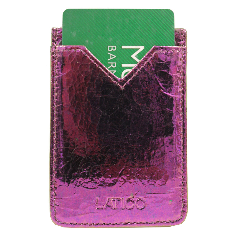 Adhesive Credit Card Holder - Latico Leathers
