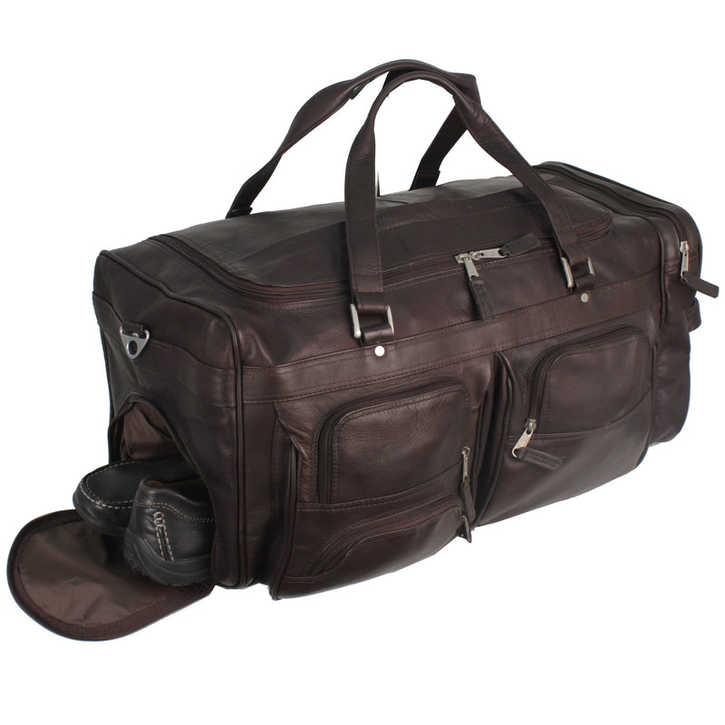 Deluxe Travel Bag - Latico Leathers