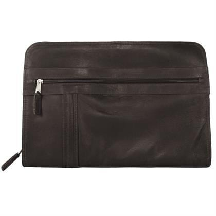 Deluxe Zippered Portfolio - Latico Leathers