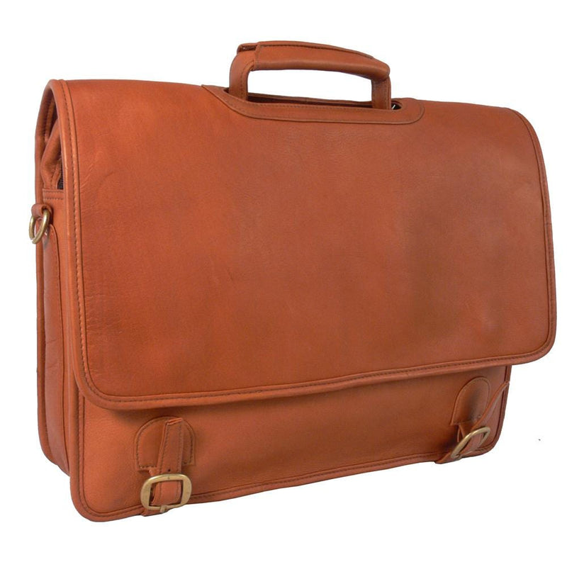 Grammercy Park Laptop Brief- Large - Latico Leathers