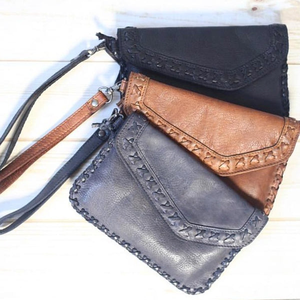 Marlin Wristlet - Latico Leathers
