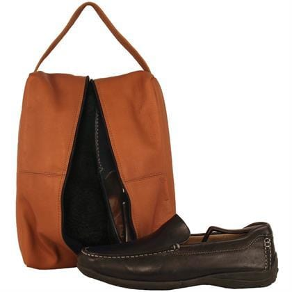 Travel Shoe Bag - Latico Leathers
