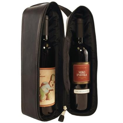 Double Wine Holder - Latico Leathers