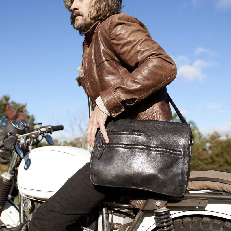 Spring St. Messenger - Latico Leathers