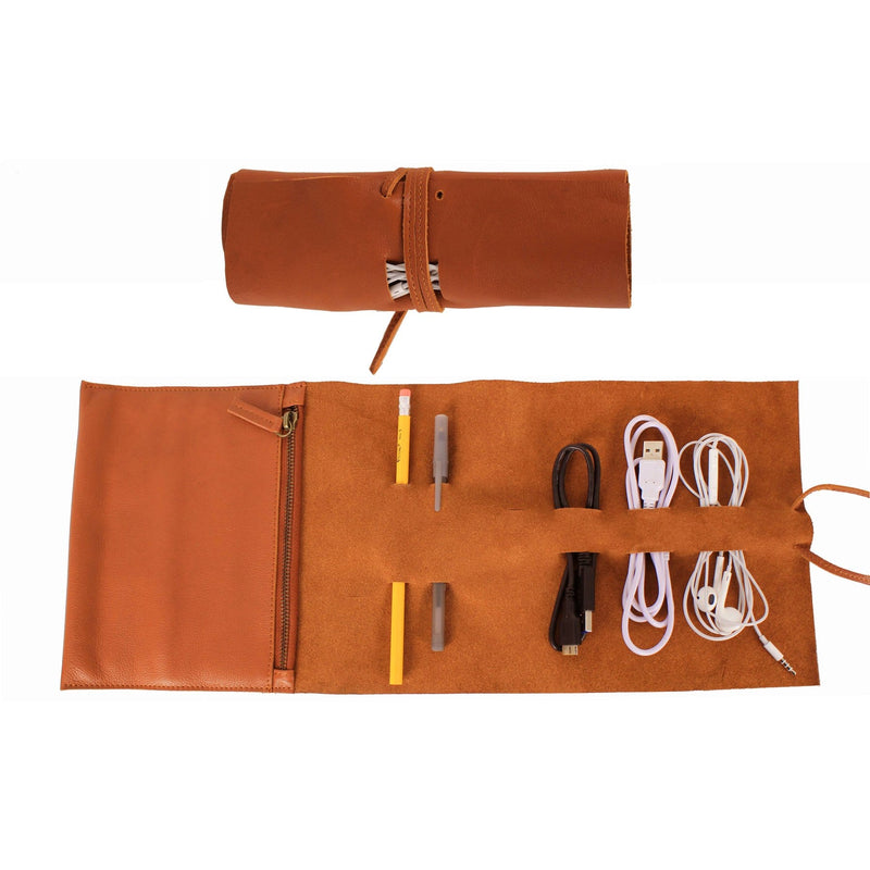 Tech and Accessory Roll - Latico Leathers