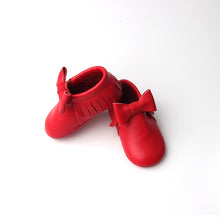 RTS Big Bow Moccasins- Red