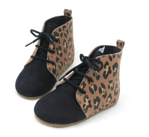 The Charleigh boot- cheetah/black