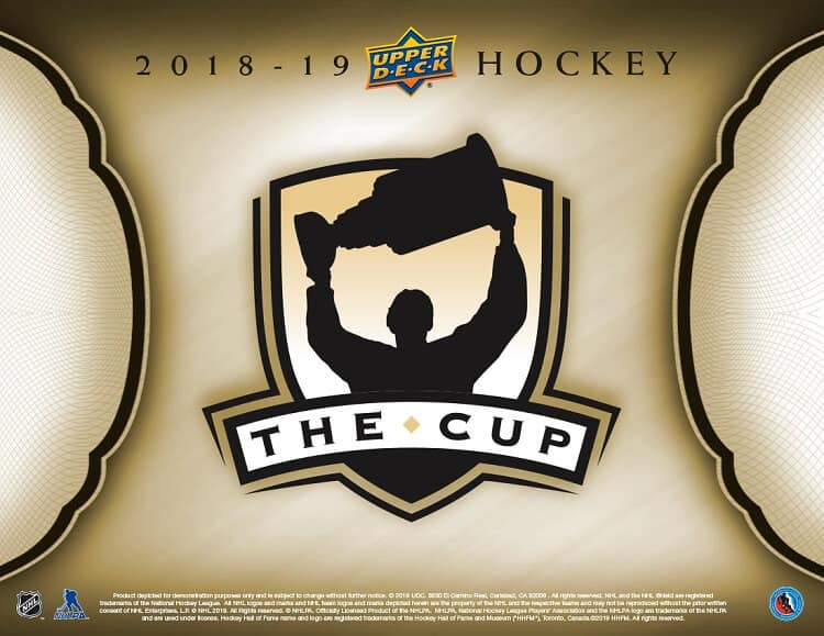 SCC BREAK #447: 2018-19 UD THE CUP MASTER CASE BREAK *TEAM SELECT*