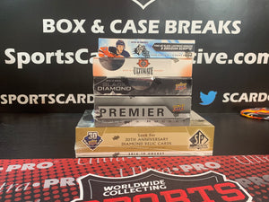 SCC BREAK #433: 2019-20 UPPER DECK ENGRAINED HOCKEY (5xBox) INNER CASE BREAK  *TEAM SELECT*