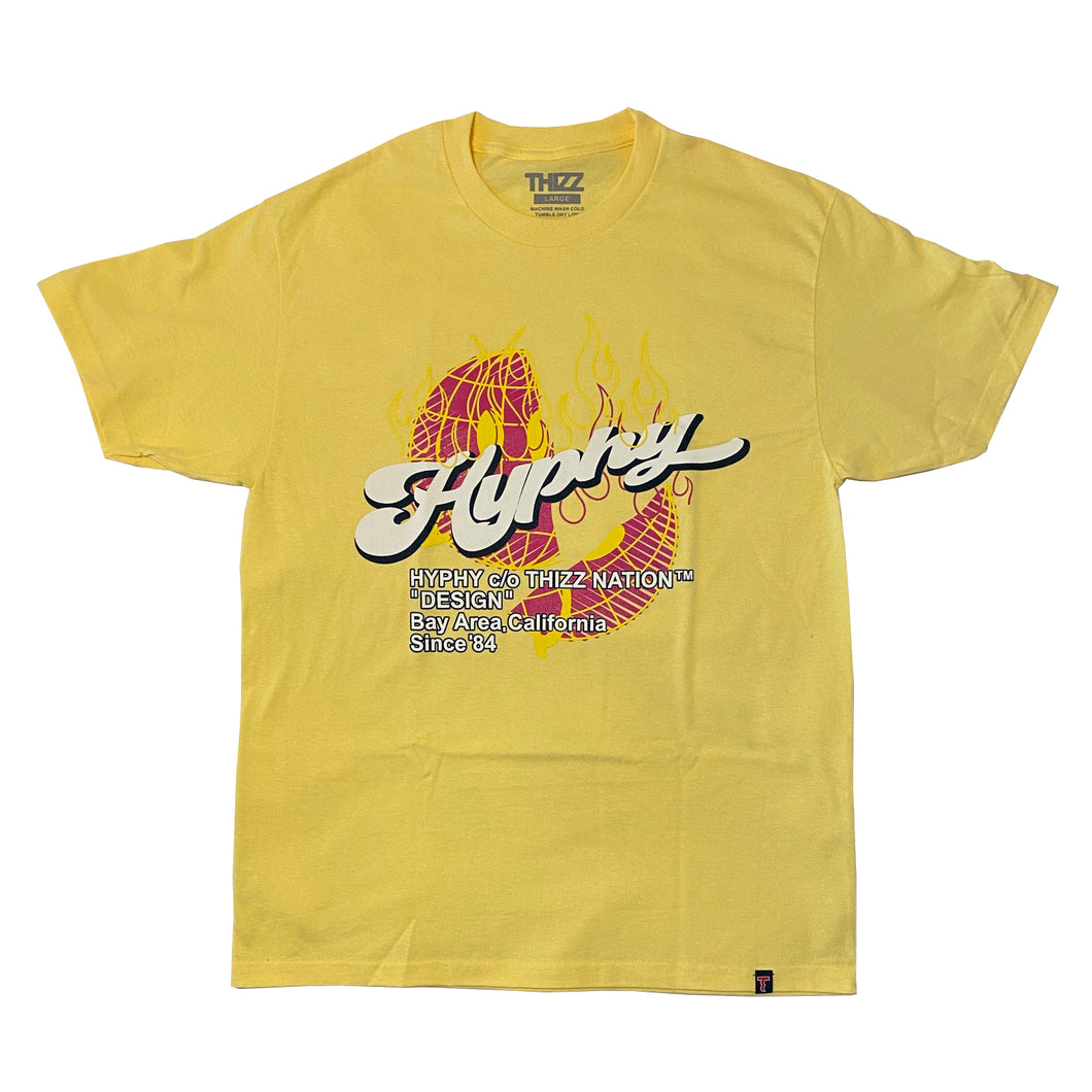 HYPHY SPLIT WORLD - BANANA TEE