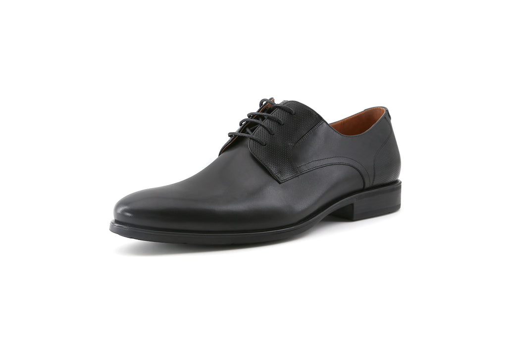 Men's Leather Shoes - Black 1M31976 BKL
