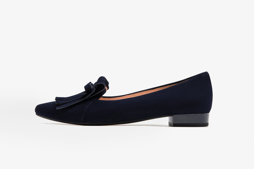 Loafers with Tassel Detail - Navy AT17213 NAS