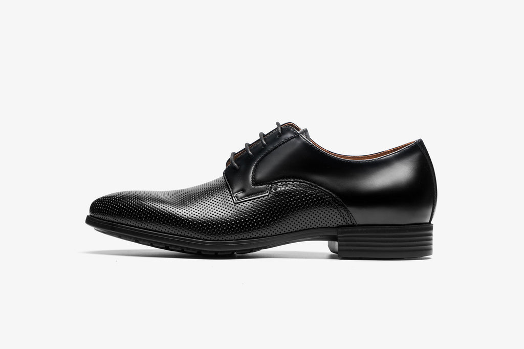 Men's Leather Shoes - Black