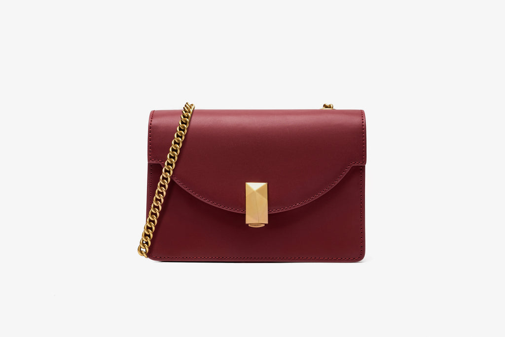 Classic Crossbody Bag - Bordo ATH7630