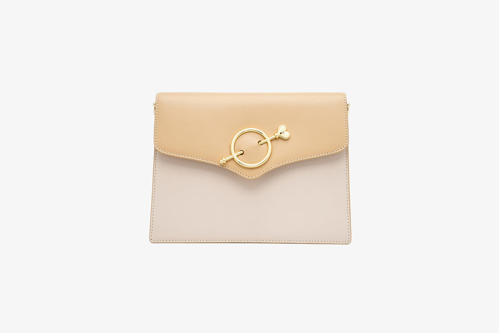 Love Key Mini City Bag - Light Brown