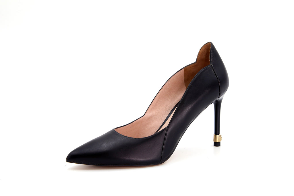 Leather Pumps - Black AT94436