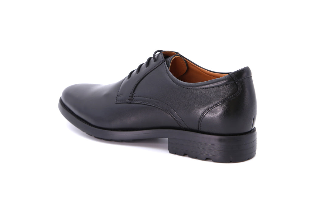 Men's Leather Derby Shoes - Black ATM65805