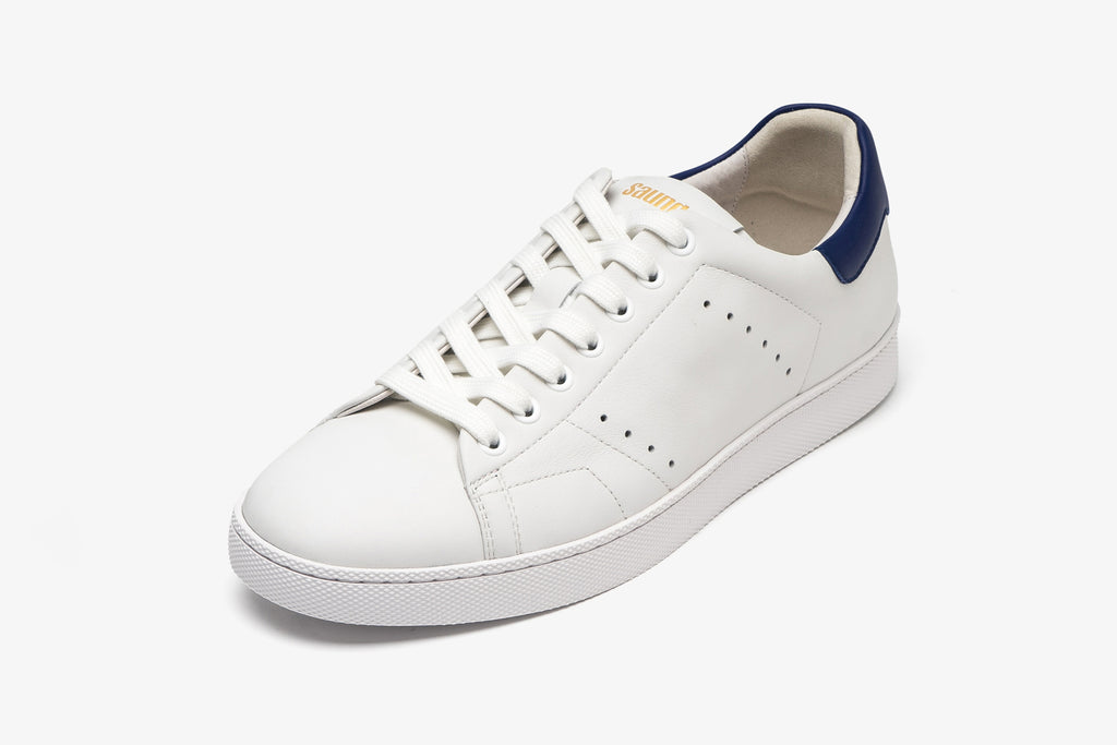 Men's Leather Sneakers - White