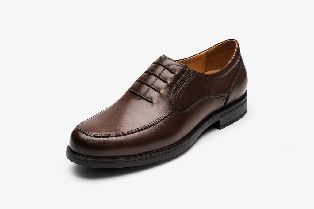 Men's Lace-up Shoes in Leather - T.Moro